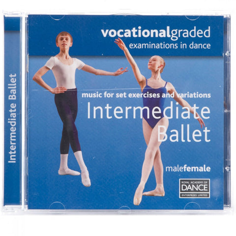RAD Vocational Intermediate Ballet CD - Dazzle Dancewear Ltd