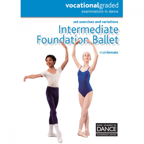 RAD Inter Foundation Syllabus Book - Dazzle Dancewear Ltd