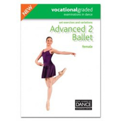 Advanced 2 Female Syllabus Book - Dazzle Dancewear Ltd