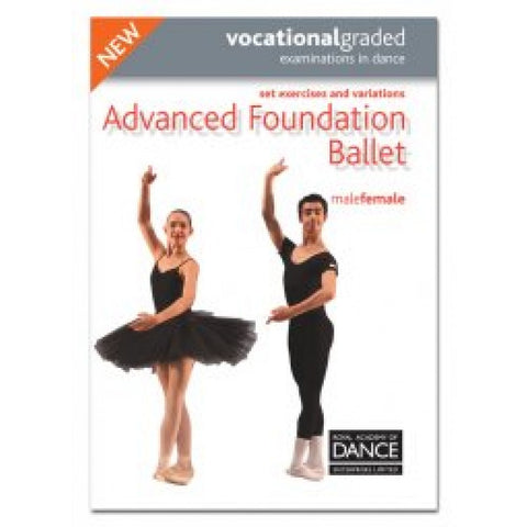 Advanced Foundation Male/Female Syllabus Book - Dazzle Dancewear Ltd