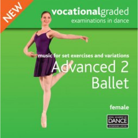 Advanced 2 Female Syllabus CD - Dazzle Dancewear Ltd
