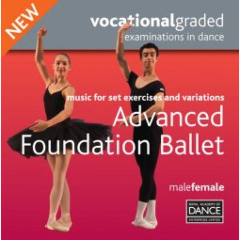 Advanced Foundation Male/Female Syllabus CD - Dazzle Dancewear Ltd