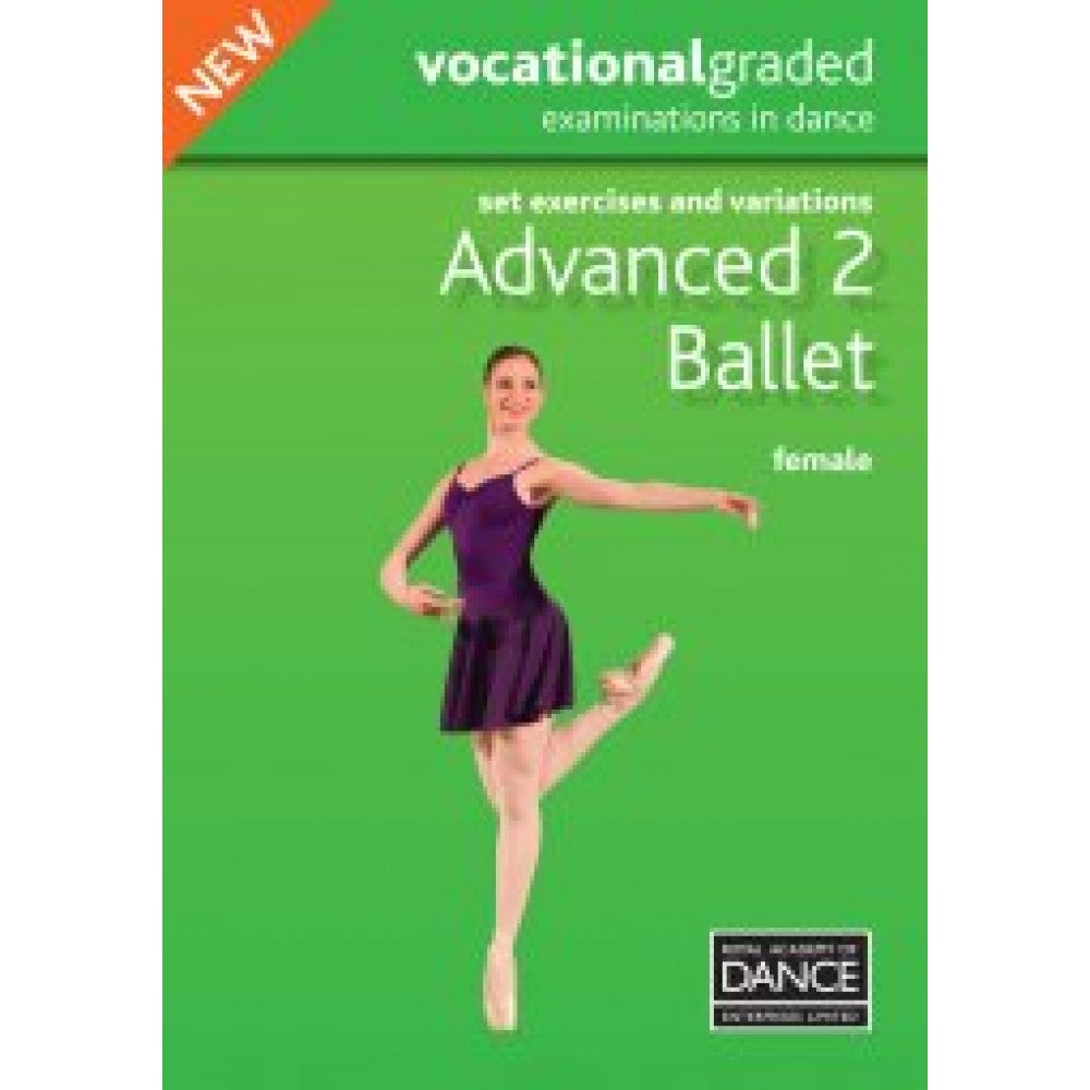 Advanced 2 Female Syllabus DVD - Dazzle Dancewear Ltd