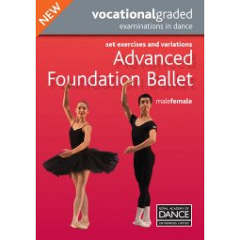 Advanced Foundation Male/Female Syllabus DVD - Dazzle Dancewear Ltd
