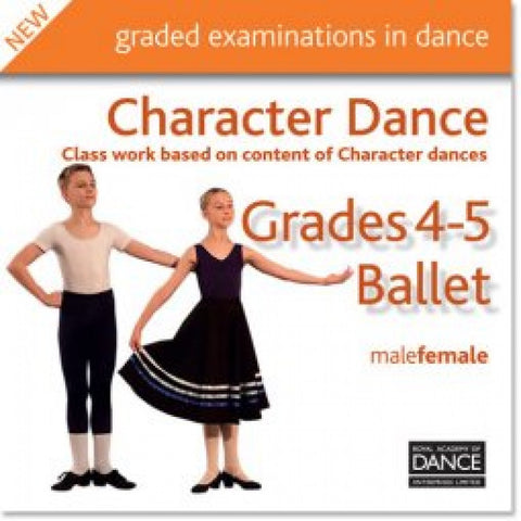 Grades 4-5 Character Dance CD - Dazzle Dancewear Ltd