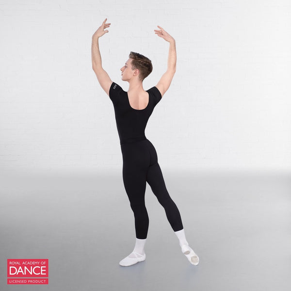 RAD Approved Scoop Neck Cap Sleeved Thong Back Leotard - Dazzle Dancewear Ltd