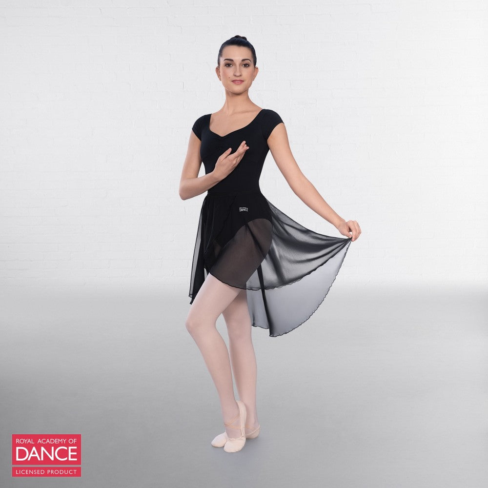 RAD Approved Semi Sheer Skirt with Wrapover Detail - Dazzle Dancewear Ltd