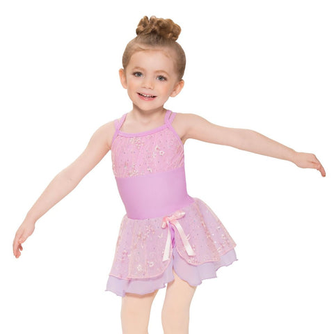 Revolution Pink/Lavender Girls Ballet Dress - Dazzle Dancewear Ltd