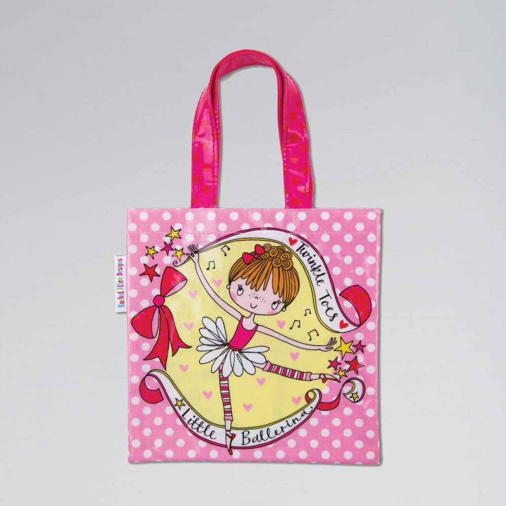 Little Ballerina Mini Tote Bag - Dazzle Dancewear Ltd