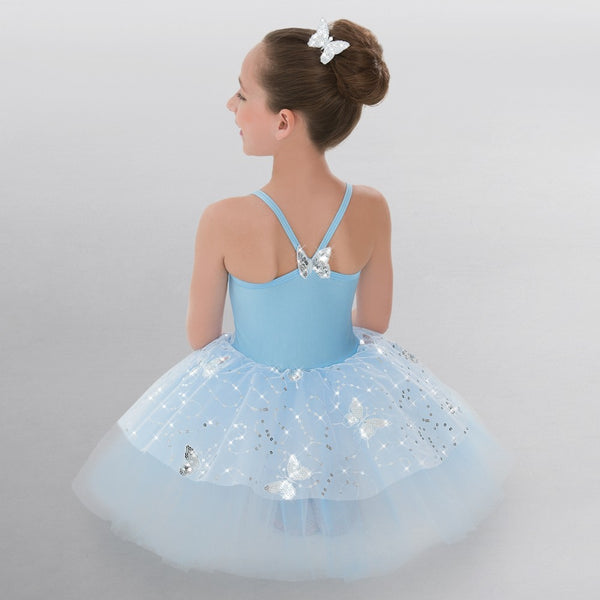 Revolution Butterfly Kisses Blue Tutu - Dazzle Dancewear Ltd