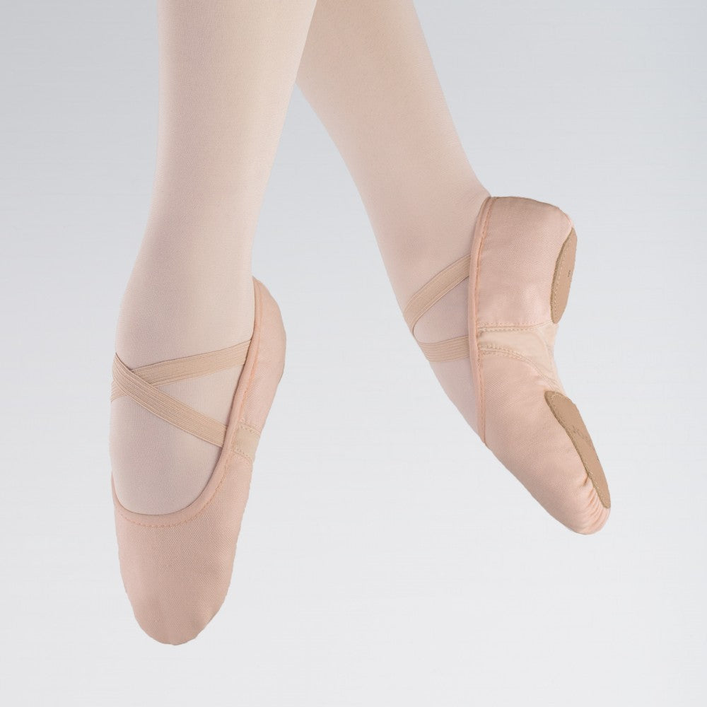 1st Position Split Sole Canvas Flex Ballet Shoes