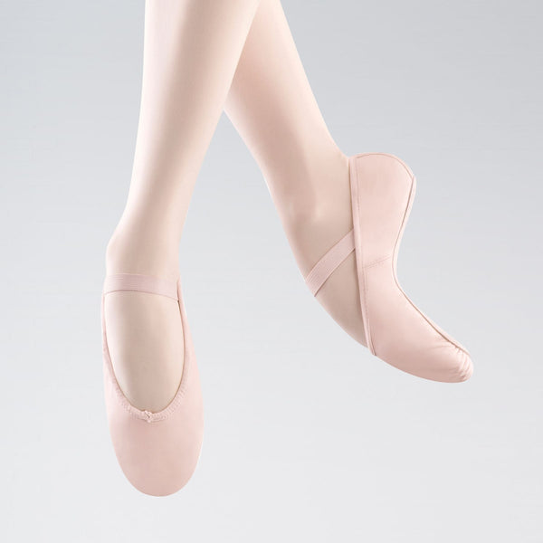 Bloch Arise 209 C Pink Leather Ballet Shoes - Dazzle Dancewear Ltd