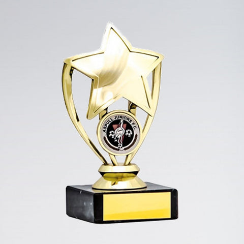 Gold Star Trophy - Dazzle Dancewear Ltd
