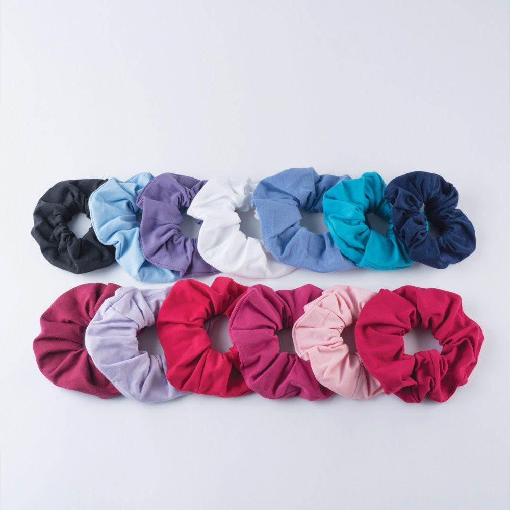 1st Position Scrunchie (Cotton/Elastane) - Pack Of 5 - Dazzle Dancewear Ltd