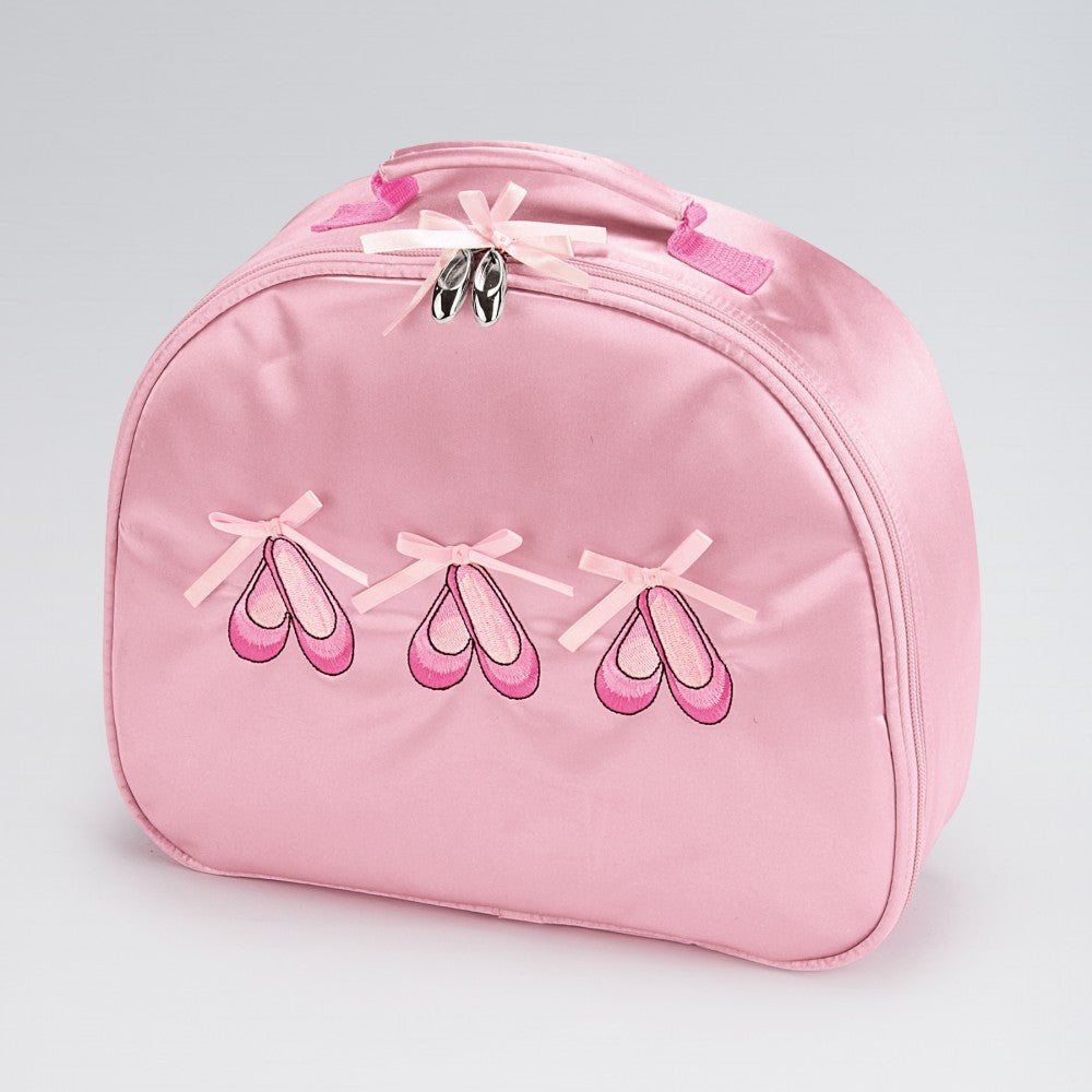 Katz Satin Ballet Shoes Dance Vanity Case