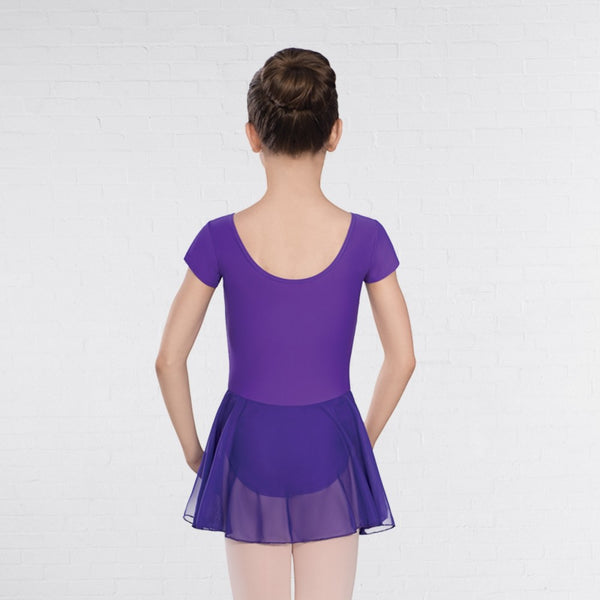 United Teachers of Dance UTD Voile Skirted Cap Sleeve Leotard - Dazzle Dancewear Ltd