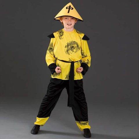 Chinese Boy Costume-Dazzle Dancewear Ltd