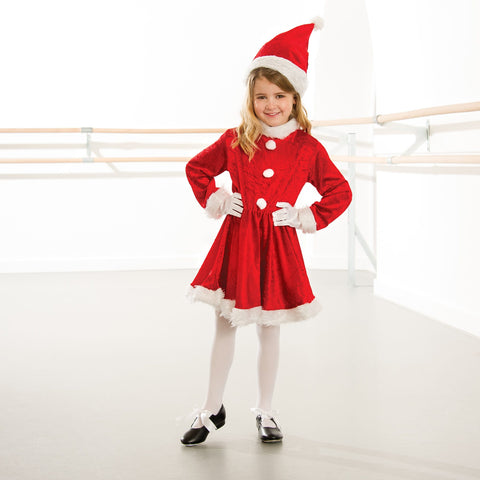 Little Miss Santa Dress-Dazzle Dancewear Ltd