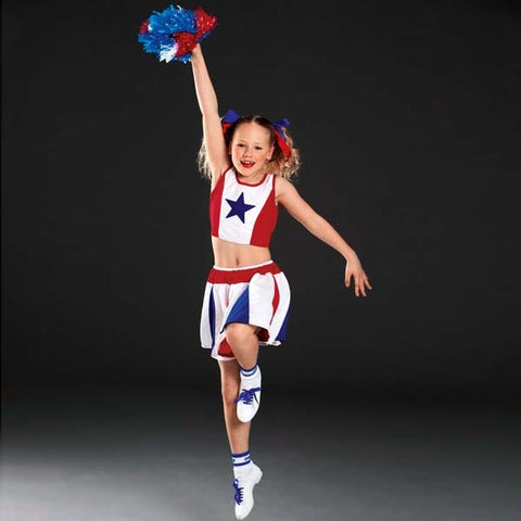Cheerleader Outfit-Dazzle Dancewear Ltd