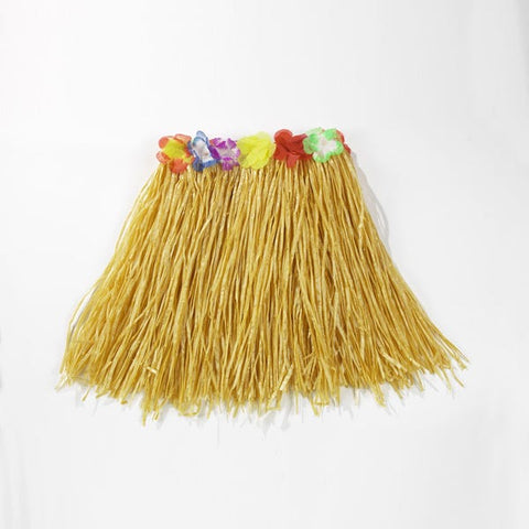 Hawaiian Grass Skirt with Lei Waist-Dazzle Dancewear Ltd