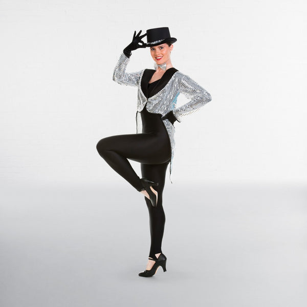 Sequin Broadway Tailcoat
