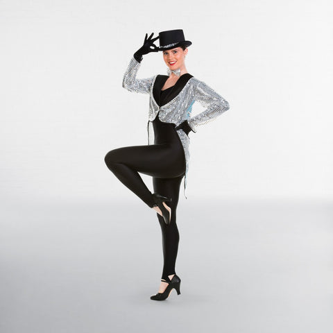 Sequin Broadway Tailcoat - Dazzle Dancewear Ltd