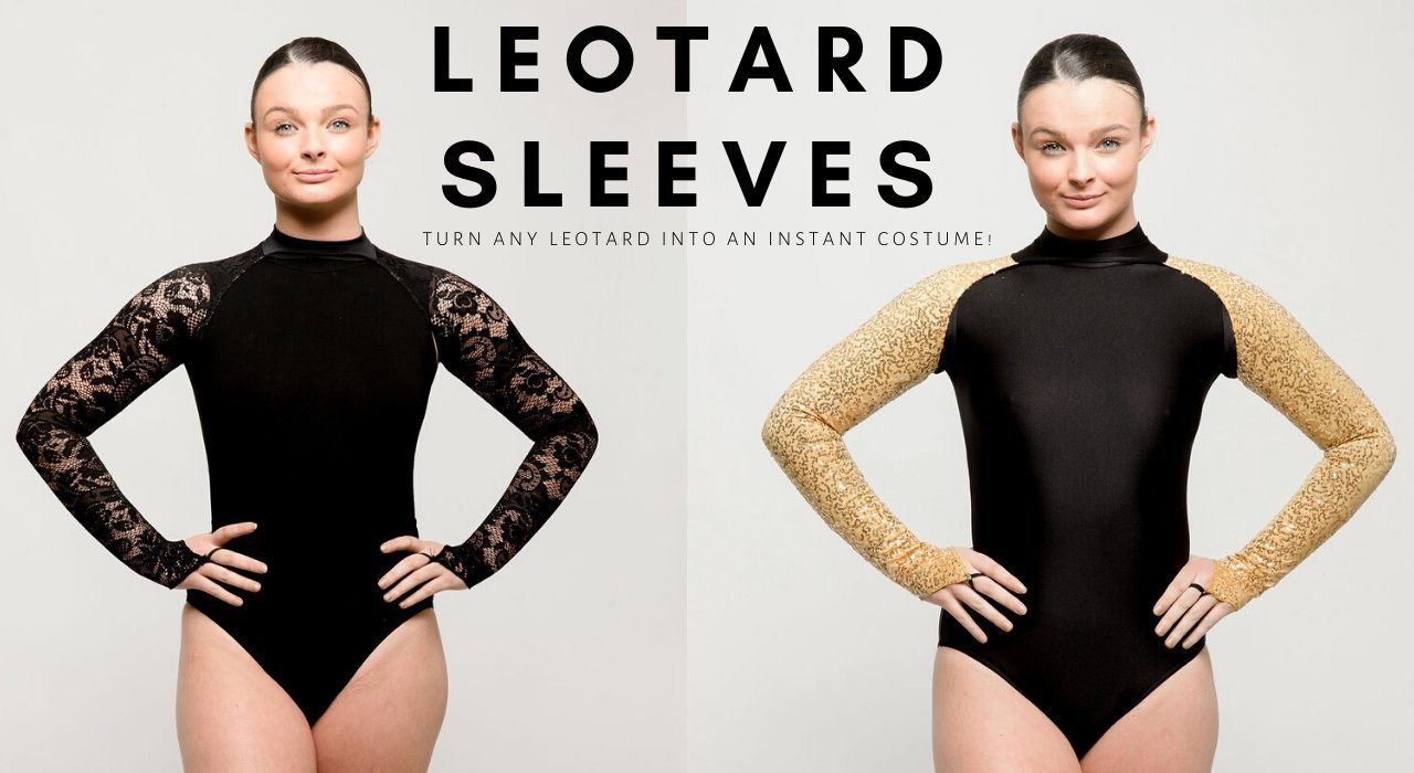 Leotard Sleeves | Dazzle Dancewear UK