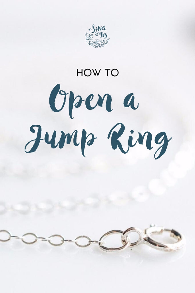 How to fix Jewelry: Open a Jump Ring