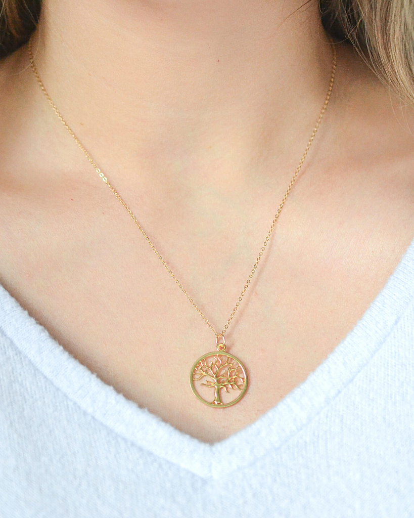 Daughter-in-Law Tree Necklace