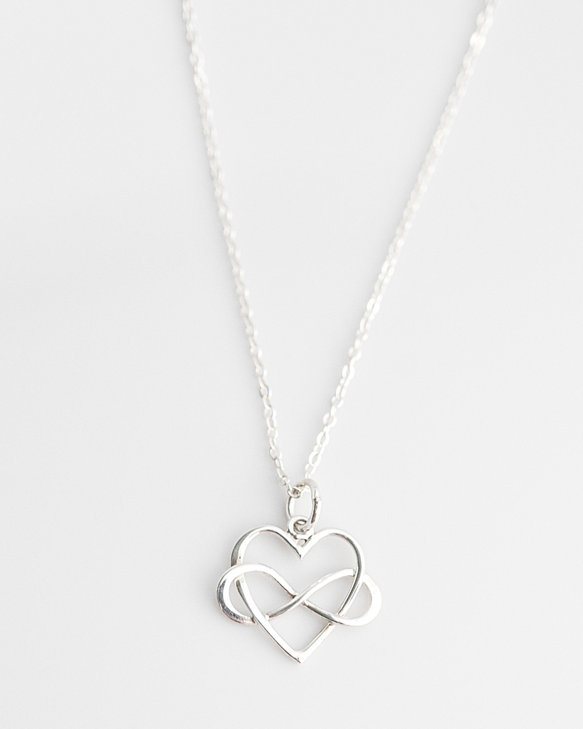 Mother's Infinity Heart Necklace