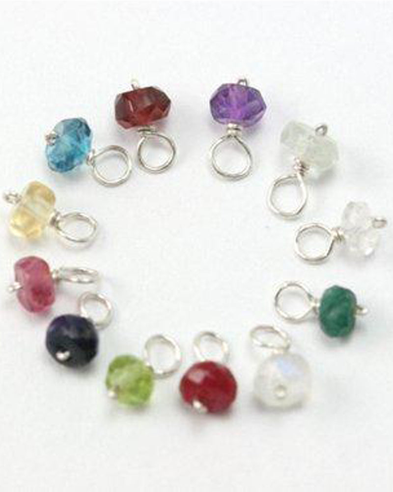 Small Birthstone Add On Charm