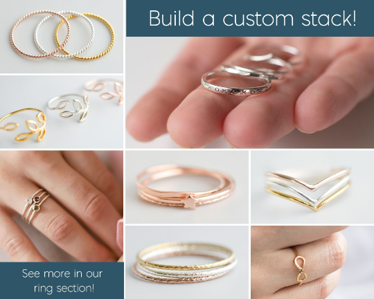Summit Stacking Rings