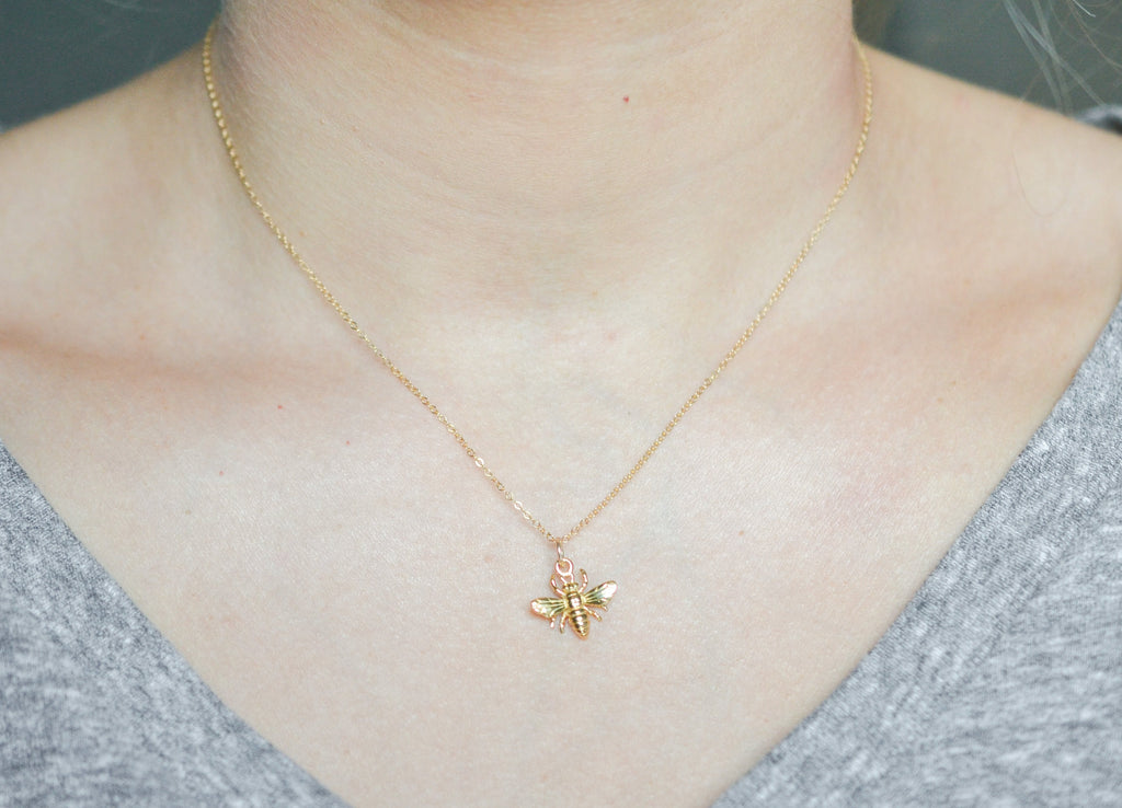 Sister Bumblebee Necklace