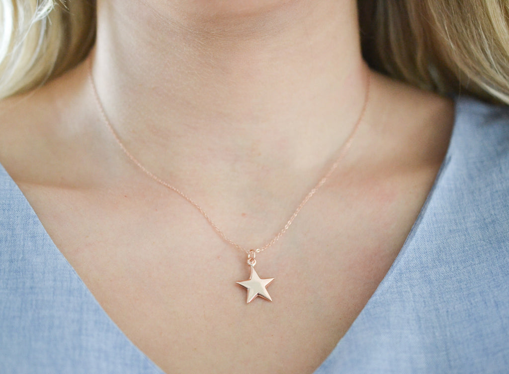 Graduate Star Necklace