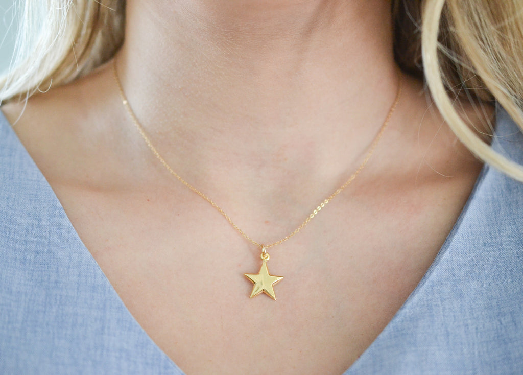 Teacher Star Necklace
