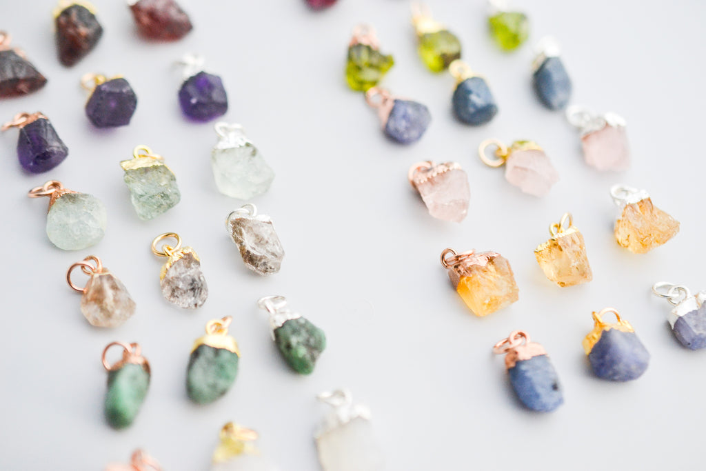 Rough Cut Birthstone