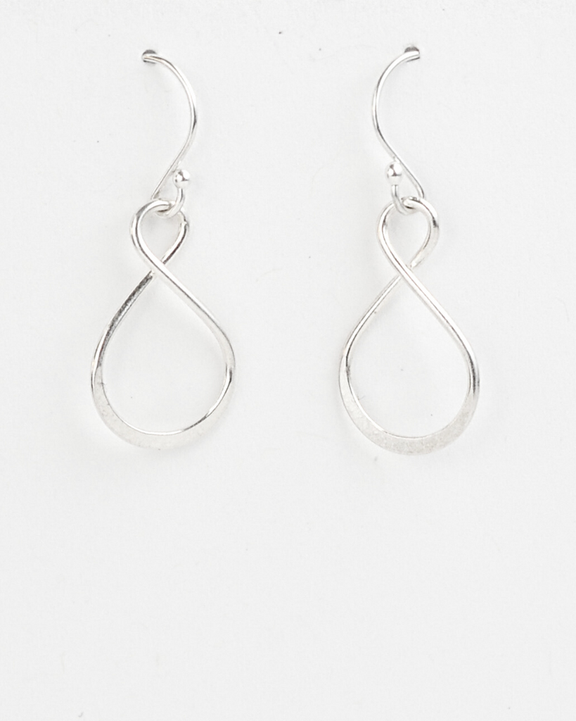 Sister Infinity Earrings