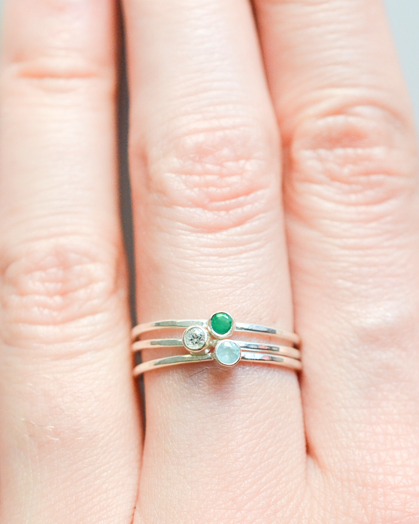 Spring Birthstone Rings