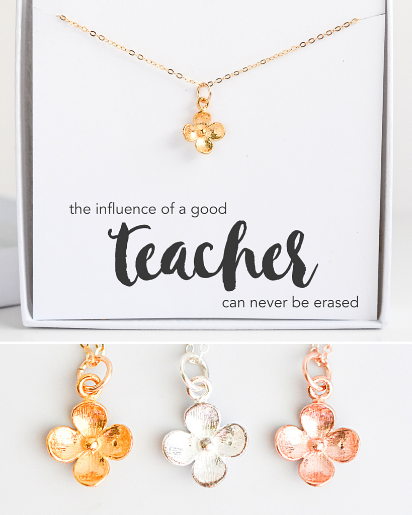 Teacher Bloom Necklace