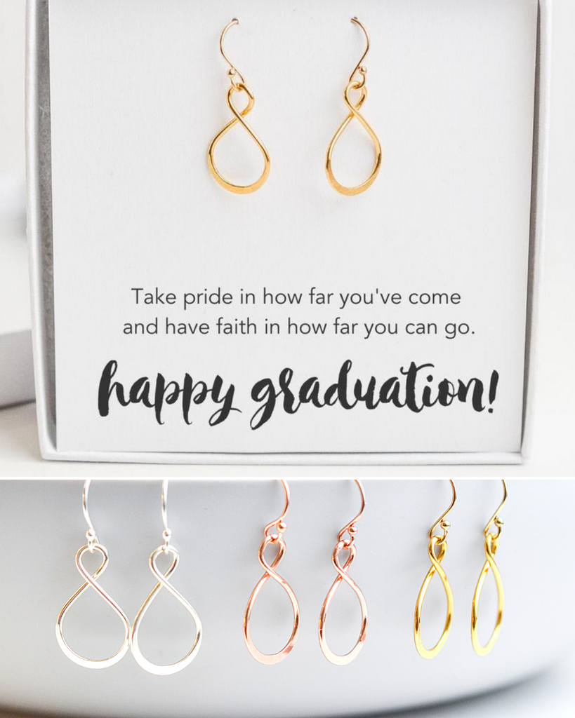 Graduate Infinity Earrings