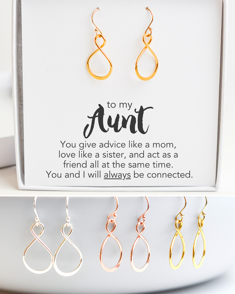 Aunt Infinity Earrings