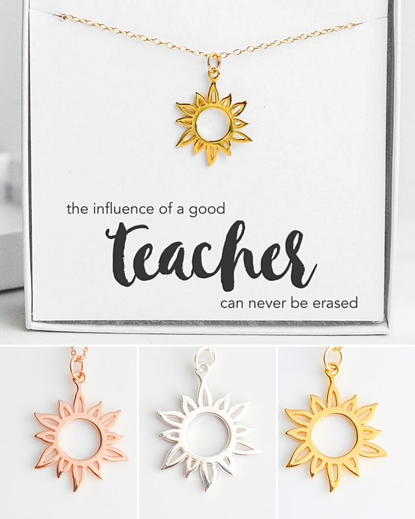 Teacher Sun Necklace