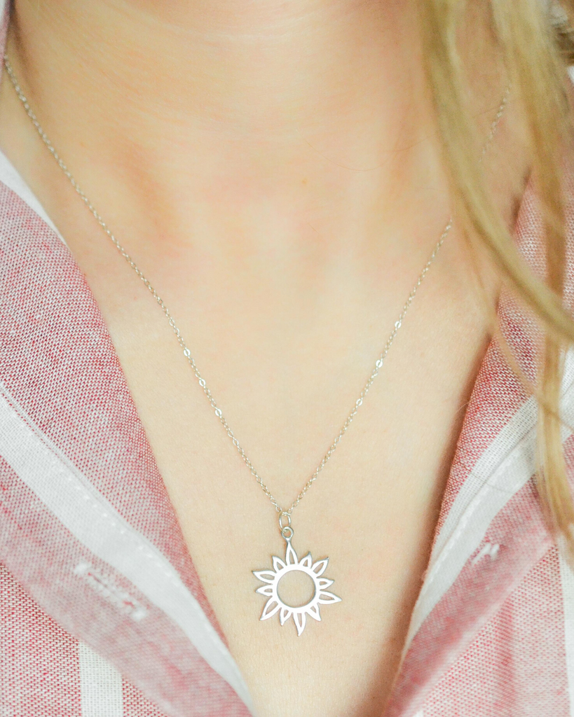 Best Friend Sun Necklace