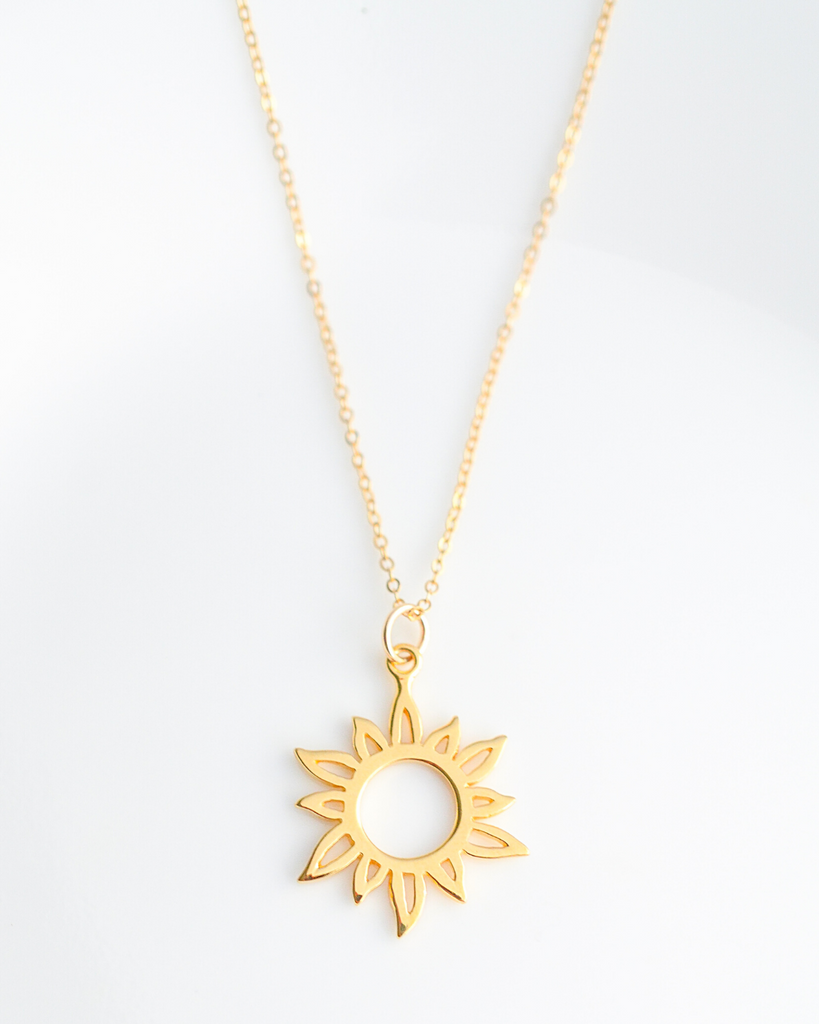 Mother of the Groom Sun Necklace