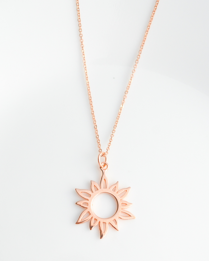 Daughter-to-Be Sun Necklace