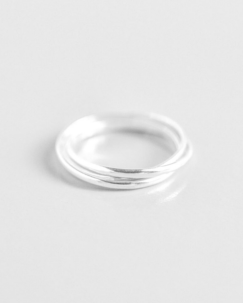 Connected Ring Trio