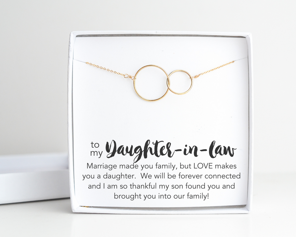 Daughter-in-Law Connected Necklace