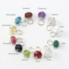Add on Small Birthstone Charm in Sterling Silver or 14k Goldfill