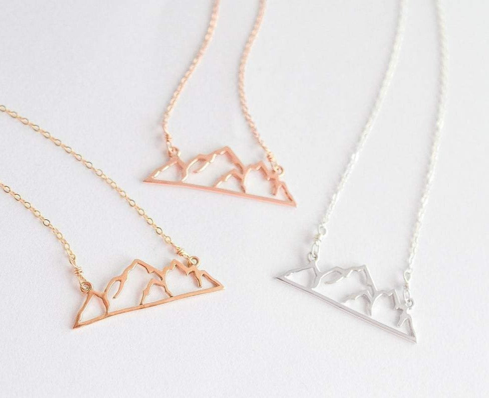 Mountain Silhouette Necklace