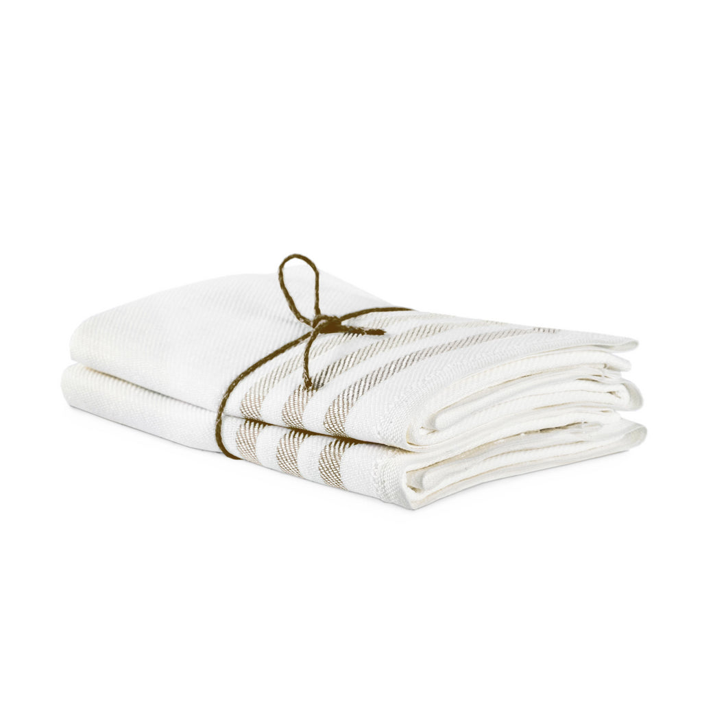 Axlings Sweden Diagonal Linen Towels